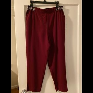 Anthropologie essential pulling trousers